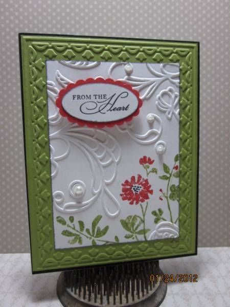 Watercolor Trio by Sassy's Sal - Cards and Paper Crafts at Splitcoaststampers