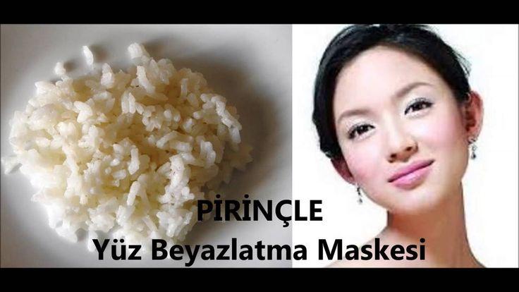 PİRİNÇ Maskesi | Muhteşem ve Pürüzsüz YÜZ İçin Pirinç | DOĞAL MASKELERİ