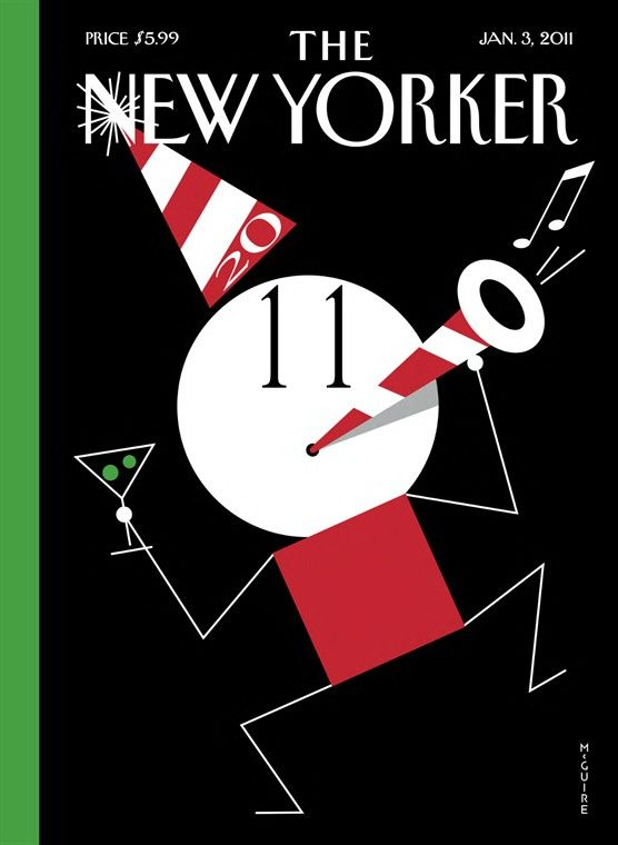Richard McGuire   The New Yorker Covers
