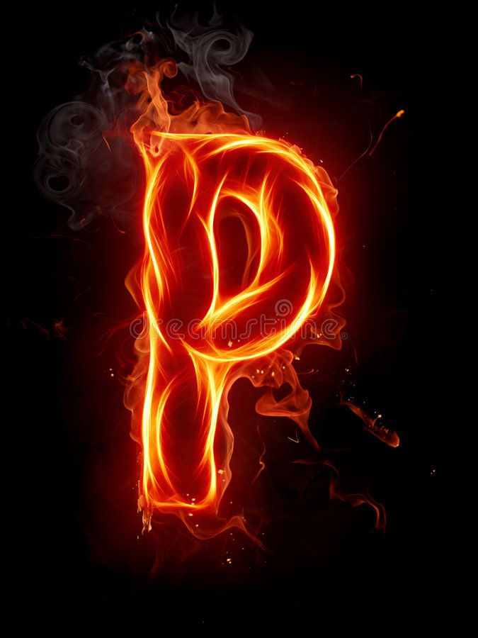 Fire Letter P A Series Of Fiery Letters And Numbers Ad Series Letter Fire Numb Blurred Background Photography Name Wallpaper Tattoo Lettering Fonts