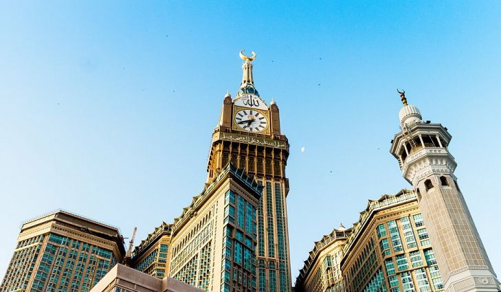 #3 Makkah Royal Clock Tower, Saudi Arabia - 1972 Feet