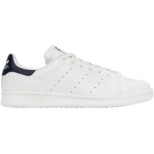 Adidas Originals Women Stan Smith Leather Sneakers (4,950 PHP) ❤ liked on  Polyvore featuring