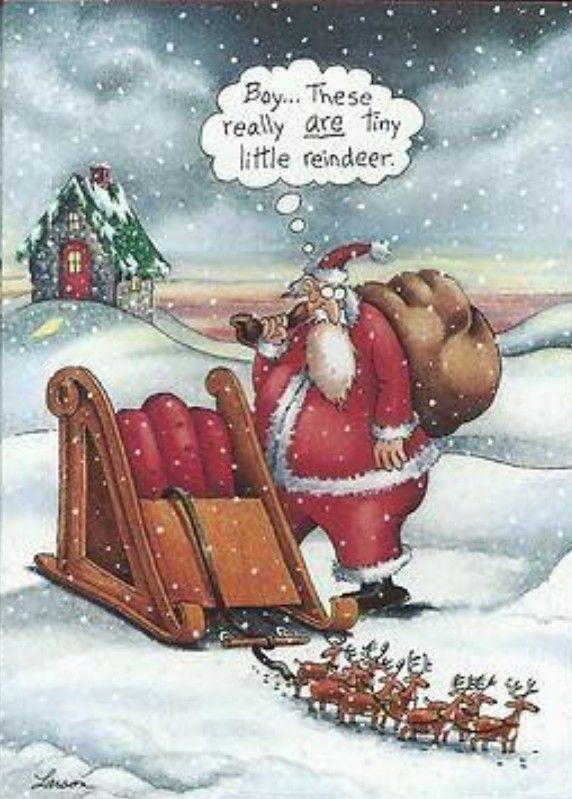 Far Side Christmas Cartoons : christmas, cartoons, Sylvia, Seasonal, Funny, Larson, Cartoons,, Christmas, Humor,, Cartoons