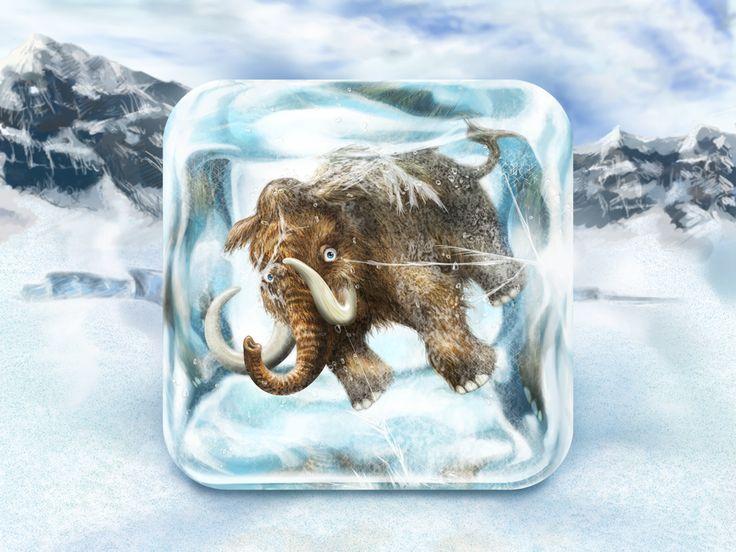 mammoth icon by Rosetta Icon Design