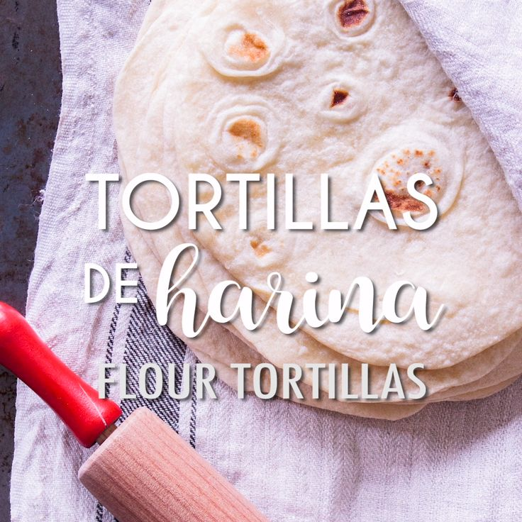 RECETA DE TORTILLAS DE HARINA Learn to make authentic Flour Tortillas with this easy and error-proof recipe. They are soft, delicious and perfect every time. You'll never want to buy them in the store again! Mexican Dishes, Mexican Food Recipes, Dessert Recipes, Tasty Videos, Food Videos, Recipes With Flour Tortillas, Homemade Tortillas, Deli Food, Tortilla Recipe