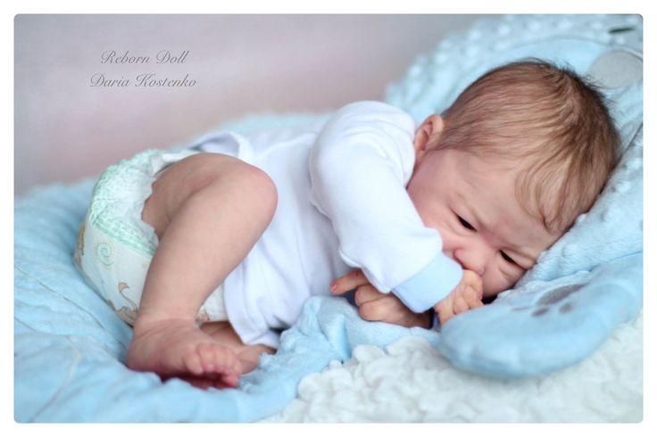 Reborn Baby Elisha Was Created from Mold Barney The Sculptor Elisa Marx | eBay