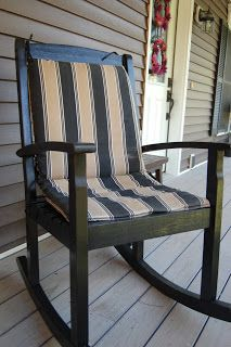 Happy House And Home: Painting Outdoor Furniture