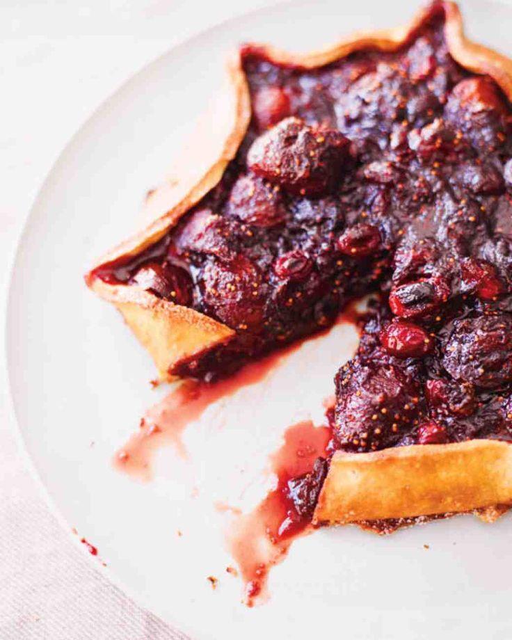 Cranberry-Fig Quinoa Tart Recipe