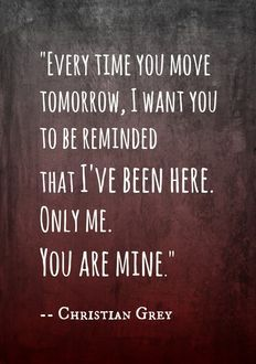 Quotes From 50 Shades Of Grey Endearing 45 Best 50 Shades Of Grey Images On Pinterest  50 Shades Fifty