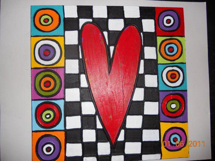 Jenny Murphy Designs... A fun and funky artist!