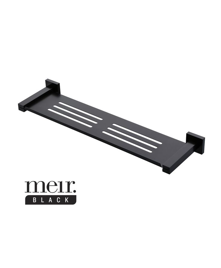 Matte Black Bathroom Shelf by Meir  Visit www meir com au. 1000  images about Black Bathroom Accessories by Meir on Pinterest