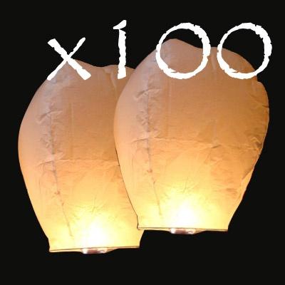 lanterne céleste thai x 100