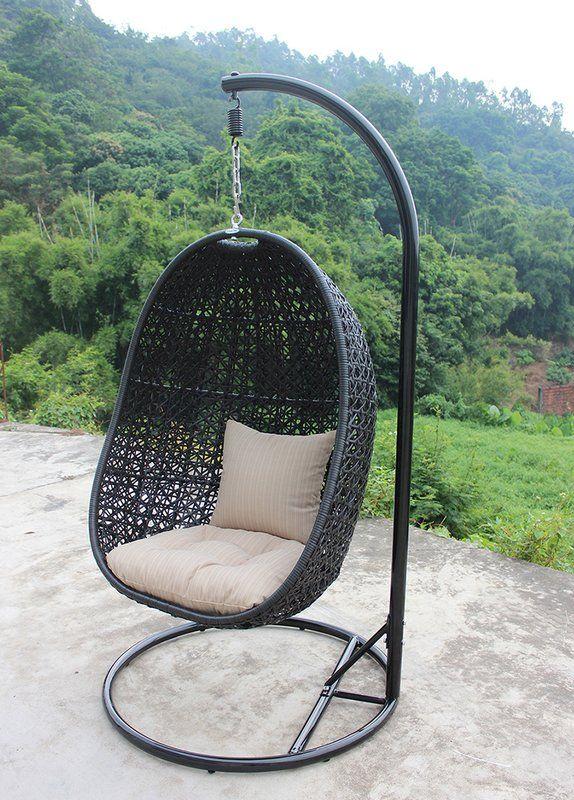 Swing Chair Wayfair Quikr Harmonia Living Nimbus With Stand Home