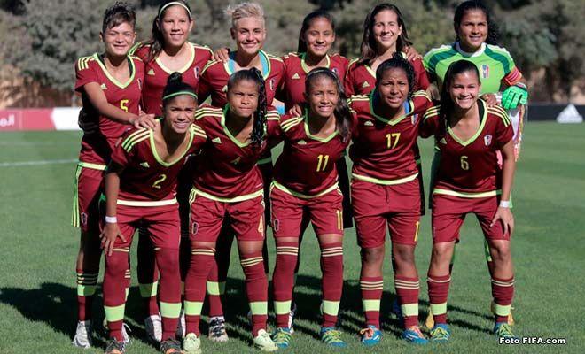 Vinotinto Sub-17 femenino ha debutado con el pie derecho en mundiales