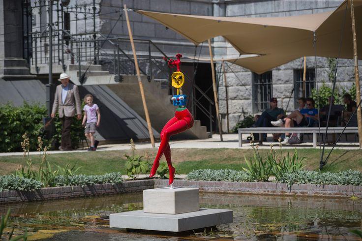 Joan Miró, Jeune Fille S'évadant. Foundation Marguerite Et Aimé Maeght. Photo: Olivier Middendorp