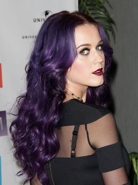 purple hair! This is what I want. When they say its just weird.....its about the person not their hair.. purple hair shouldn't label someone a freak..this looks very nice.
