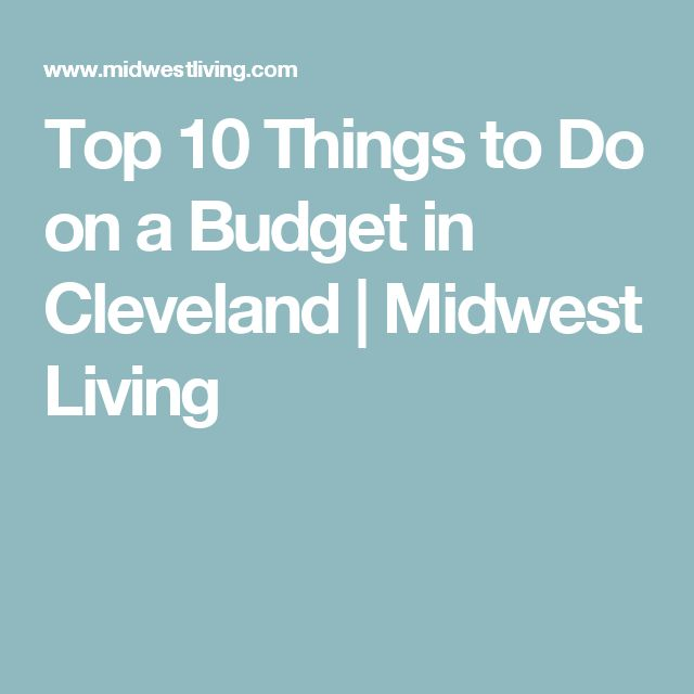 Best Cleveland Images On Pinterest Cleveland Ohio And - 10 things to see and do in cleveland