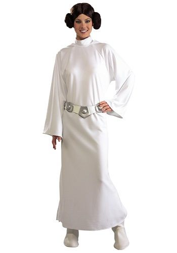 Become Star Wars royalty in this deluxe Princess Leia costume. It's officially licensed from Lucasfilm.