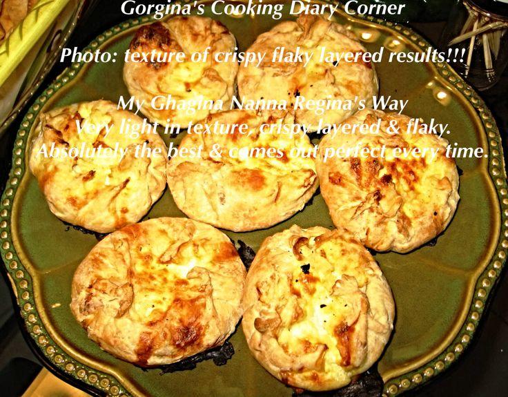 Maltese Ghagina: Qassatat filled with Ricotta & Cheeses....delicious!!!