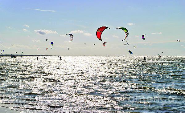 kitesurfing in Zeeland
