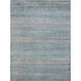 Found it at Temple & Webster - Feza Aqua Blue Hand Knotted Rug