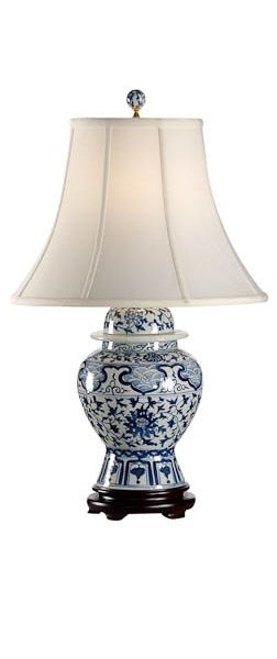 blue and white lamps - InStyle-Decor.com                                                                                                                                                                                 More