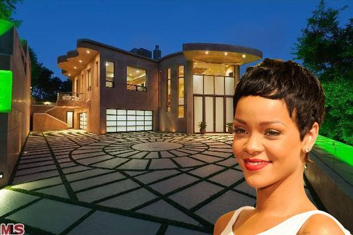 Rihanna's house on the market for $15 million.