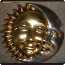 Sun & Moon mask