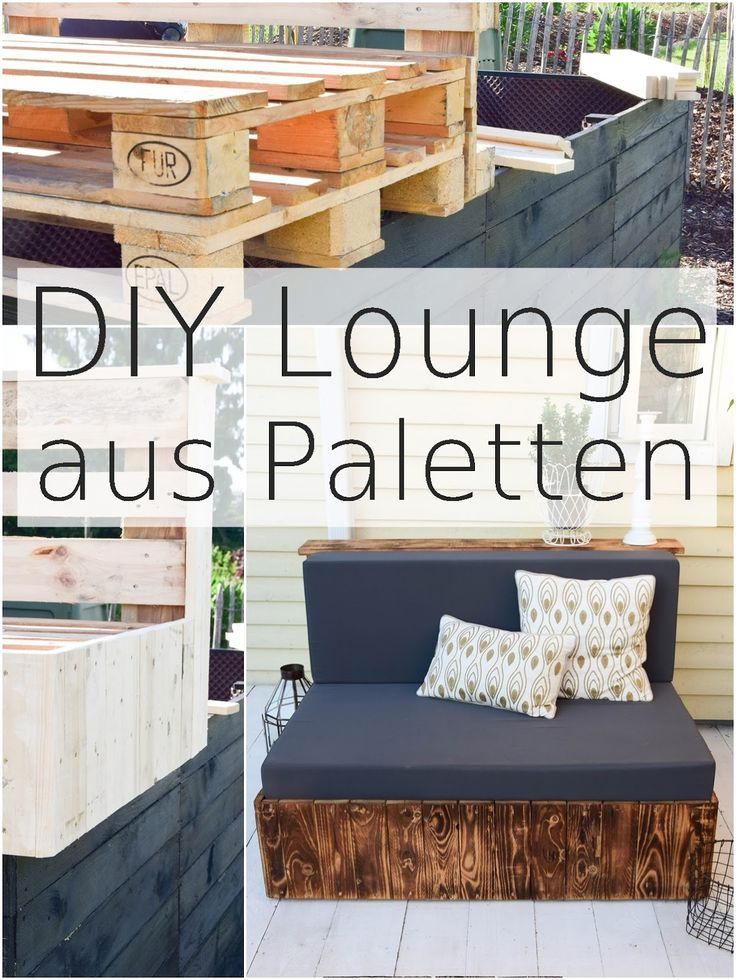 25 best ideas about paletten lounge on pinterest lounge. Black Bedroom Furniture Sets. Home Design Ideas