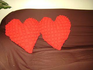Almofadas Coração