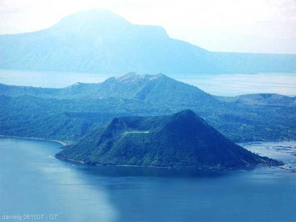 Taal Volcano- Taal Lake, Philippines EQUATION: a cold beer+hot bulalo+fresh fried tawilis+great company= HEAVEN
