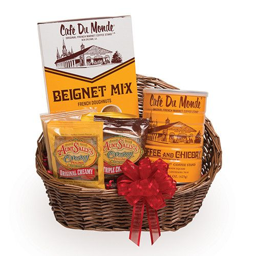 Breakfast in New Orleans Gift Basket from Aunt Sally's