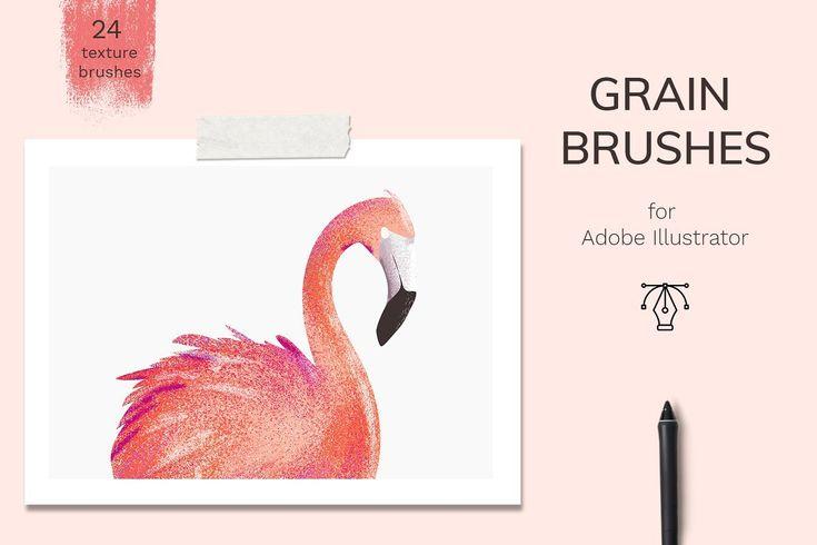 Ad brushes bundle ps ai procreate by jenteva art on