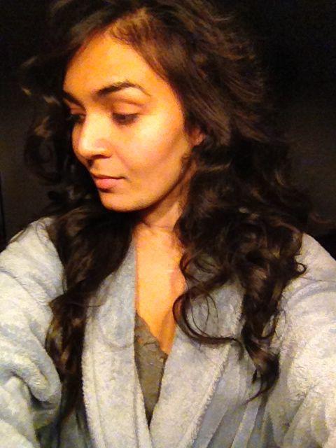 Straightener curls.. Chi air pink !