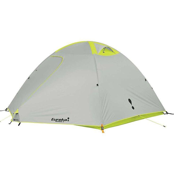 Eureka Midori Basecamp 3 Person Tent - at Moosejaw.com