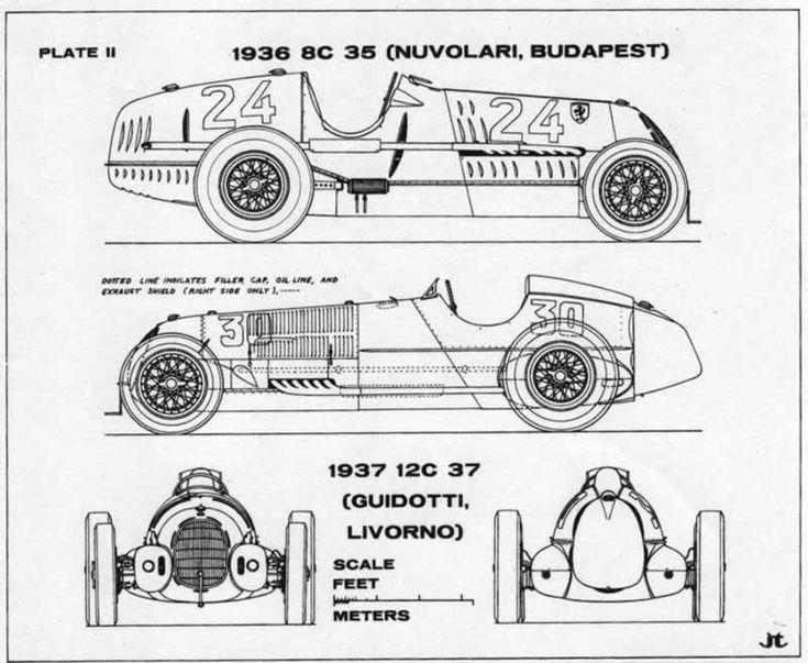 596 best auto model blueprints images on pinterest