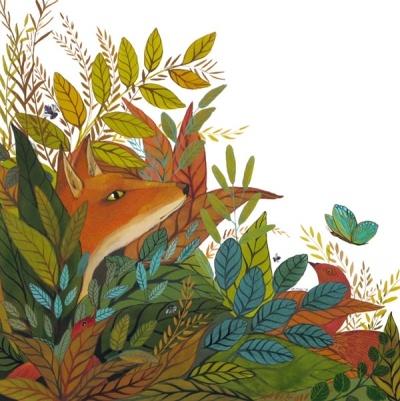 Melissa Launay - fox & butterfly, Bird Watching (2011)