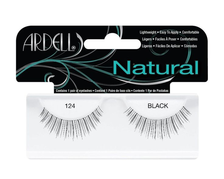Ardell Natural Lashes #124 Black