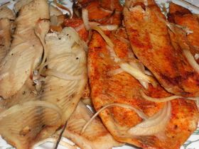 ティラピア(イズミダイ)のオーブン焼
