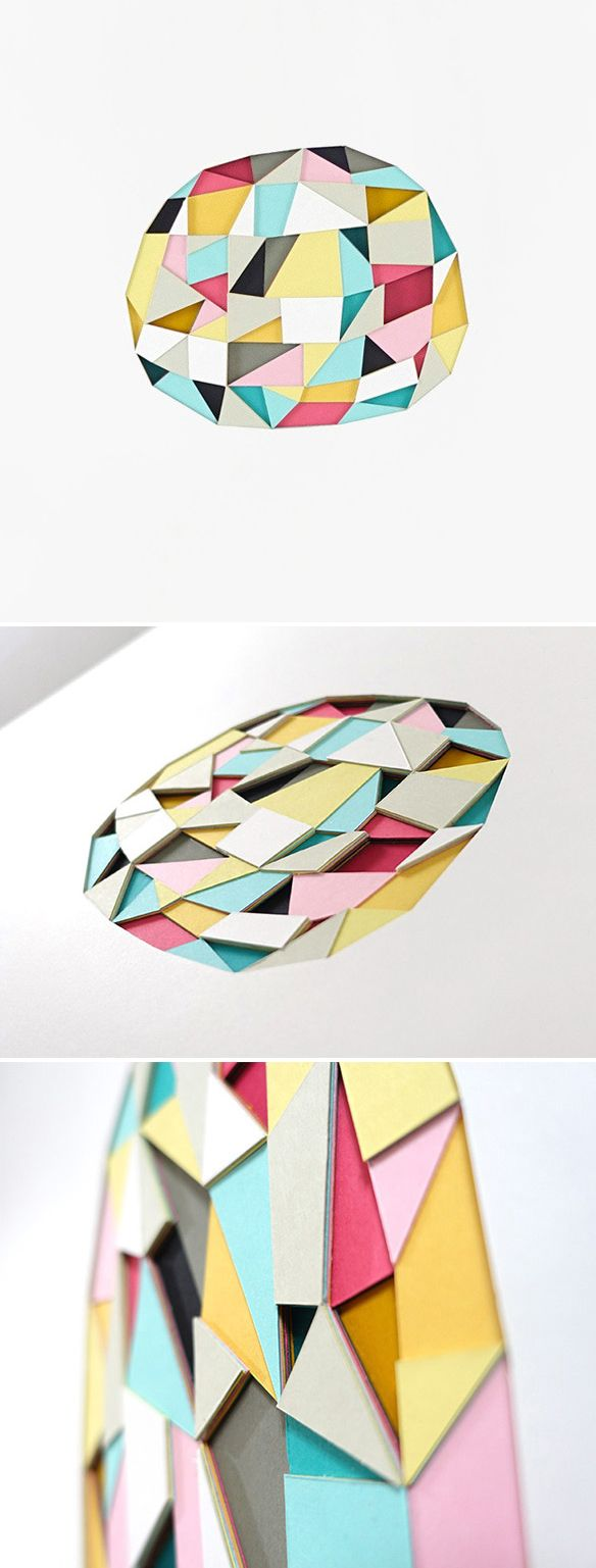 cut/layered paper by huntz liu