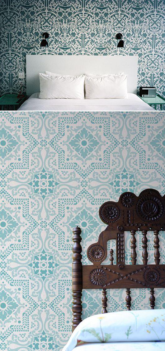 wallpaper blues / sfgirlbybay