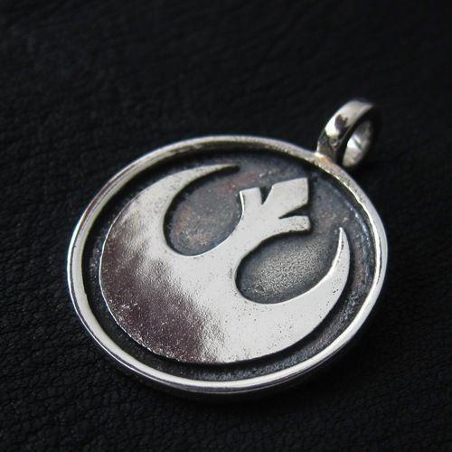 Silver Rebel pendant. Star Wars. Science Fiction. #Pendant