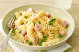 Ham and Cheese Fusilli recipe