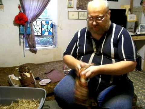▶ Bobbin Lace Making: Bolster Pillow Construction - YouTube