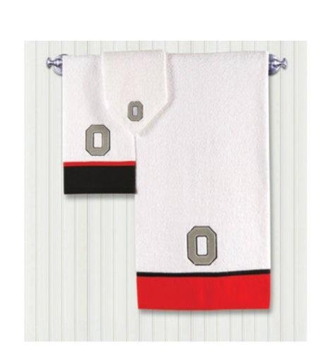 Beau Ohio State 3 Piece Bath Towel Set!