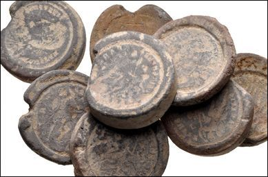 Ancient Resource: Authentic ancient coin forgers' moulds for sale