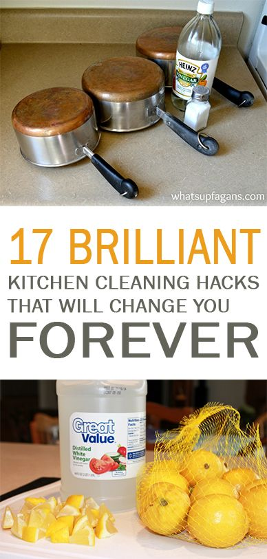 17 Brilliant Kitchen Cleaning Hacks that Will Change You Forever