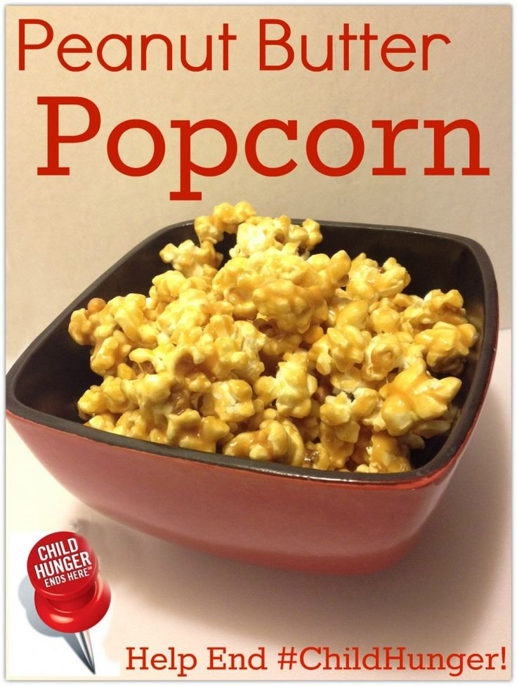 Perfect for someone like me who loves peanut butter: Snacks Recipes, Brown Sugar, Peanutpopcorn Yum, Pop Popcorn, Popcorn Snacks, Marshmallows Popcorn Recipes, Large Pots, Complete Melted, Peanut Butter Popcorn