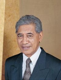 Sir Tumu Te Heuheu (Tuwharetoa Paramount Chief)