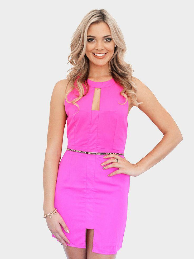 Divine Delights Dress – Pink – SODA online